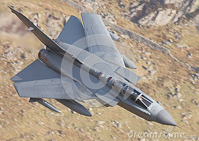 Swept Tornado fighter jet