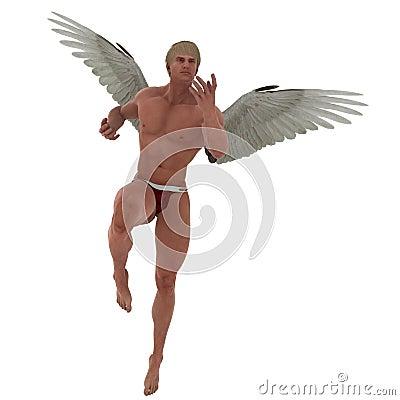 Swift Cupid in Flight