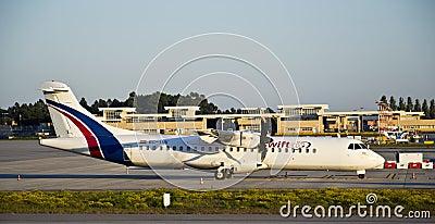 Swiftair, ATR 72 Cargo Editorial Stock Image
