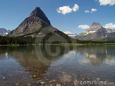 Swiftecurrent Lake & Mountains #2