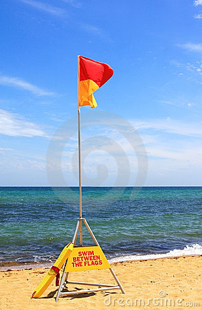 Swim Between the Flags