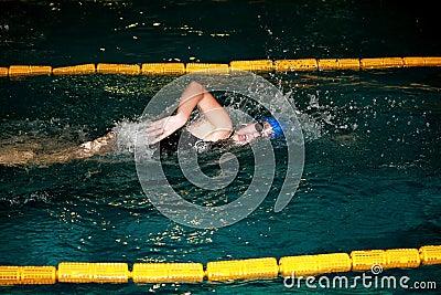 Swim meeting Jovanca Micic 2012 Editorial Photography
