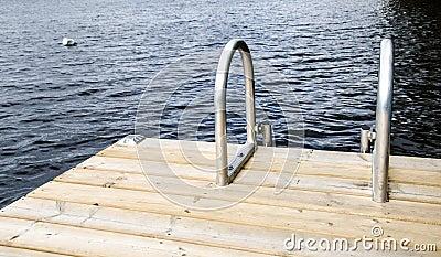 Swim-Strichleiter