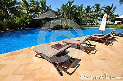 Swiming pool in Boao 1