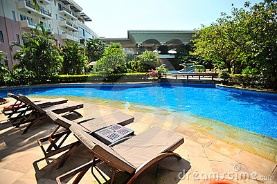 Swiming pool in Boao 4
