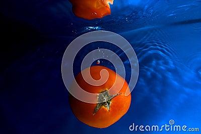 Swiming tomato 2