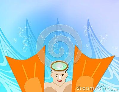 Swimmer Fins