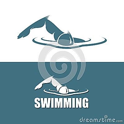 Swimmer sign