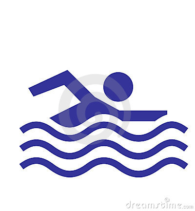 Free Swimming Allowed Icon Stock Image - 4899481