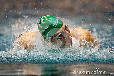 Swimming Championship 2009 Editorial Image