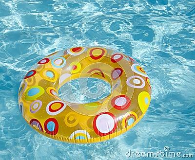 Swimming circle in a pool