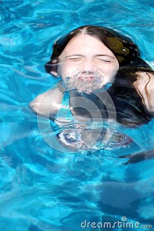 Free Swimming Girl Stock Photos - 9151993