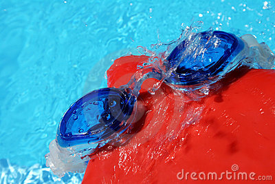 Swimming Goggles and Cap