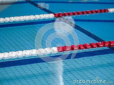 Swimming lane ropes