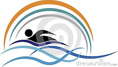 Swimming Logo Royalty Free Stock Photos Image 35964658
