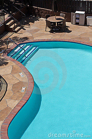 Swimming Pool From Above Royalty Free Stock Image - Image: 14888846