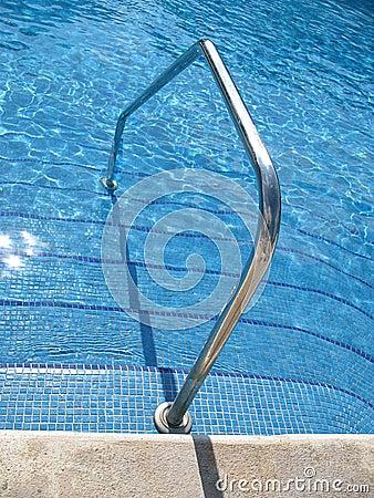 Swimming pool access