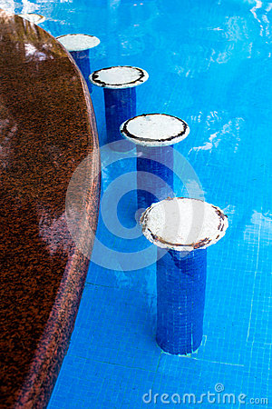 Swimming Pool Bar Seats