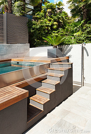 Free Swimming Pool, Detail Royalty Free Stock Photo - 45480045