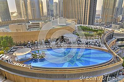 Swimming Pool in Dubai Marina