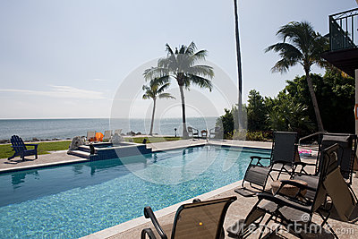 Swimming pool in the Florida