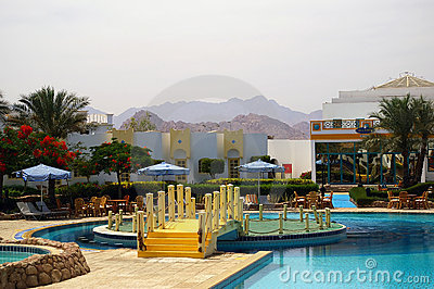 Swimming pool of the resort