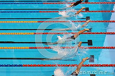 Swimming start 20