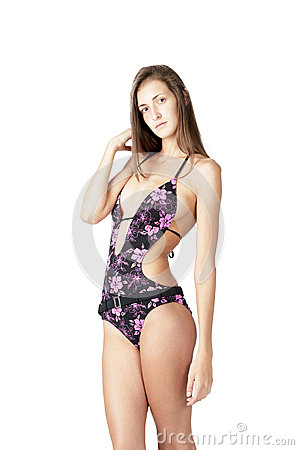 Swimsuit fashion female  model