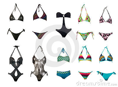 Swimsuits collection