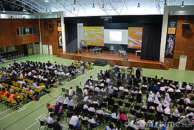 Swinburne Sarawak Inter-School Debate Championship Editorial Image