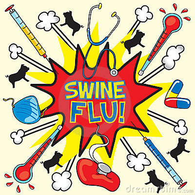 Swine Flu! Stock Images - Image: 9222714