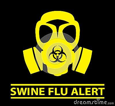 Swine Flu Alert design