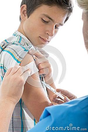 Swine flu shot