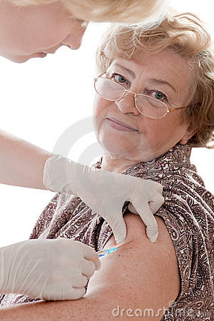 Swine flu shot