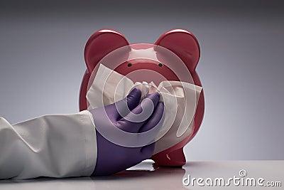 Swine flu sneeze