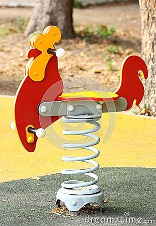 Swing spring