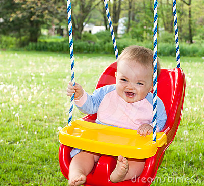Free Swinging Fun Stock Images - 24496814