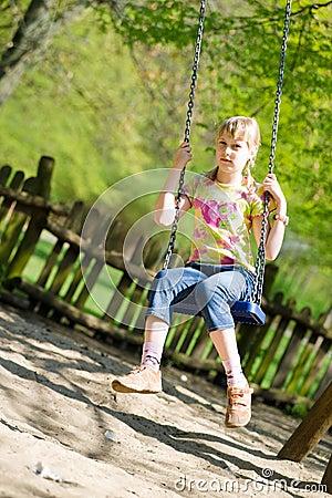 Swinging girlie