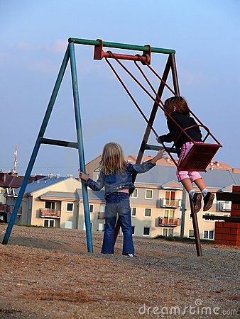 Free Swinging Time Stock Photo - 1302480
