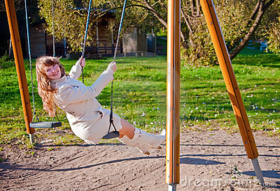 Swinging Woman