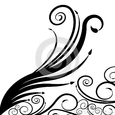 Swirl Arrow Spiral Background