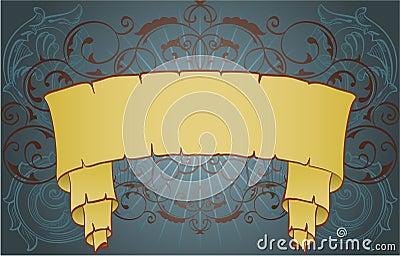 Swirl banner