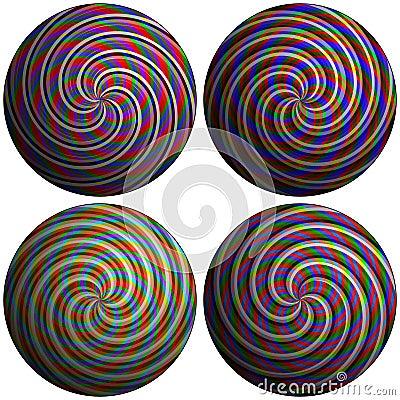 Swirl bubbles