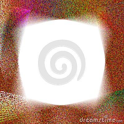 Swirl Dote Frame