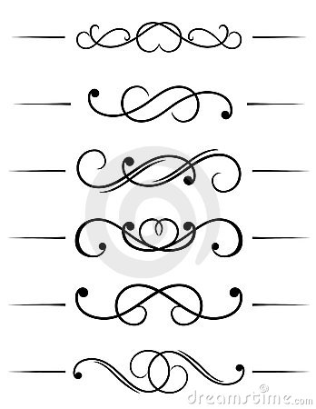 Free Swirl Elements Royalty Free Stock Images - 13339449