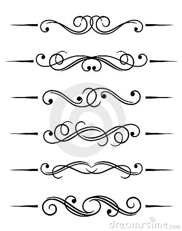 Free Swirl Elements Stock Images - 15734124