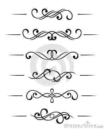 Free Swirl Elements Stock Image - 15822791