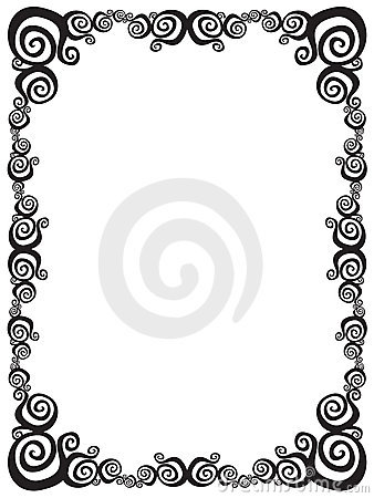 Free Swirl Frame Royalty Free Stock Images - 11143439