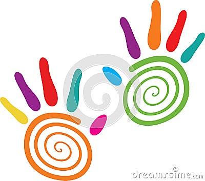 Swirl hands