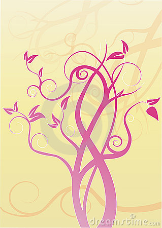 Swirl tree design